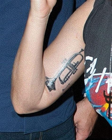 lady gaga arm tattoo gaga trumpet meaning pictures to pin on