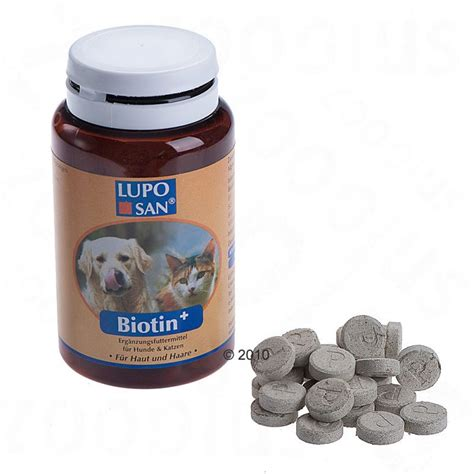 biotin for dogs luposan biotin great deals on pet nutrition supplements at zooplus