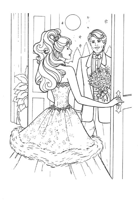barbie coloring pages coloringpagesabc com