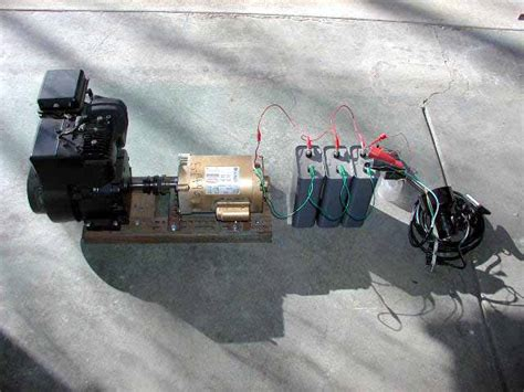 how to test a capacitor on a generator generator