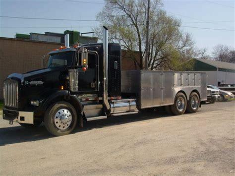 semi truck bed utility truck bodies beds pinterest utility truck
