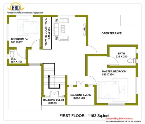 house design and floor plans 2 storey house design with 3d floor plan 2492 sq feet kerala home design and