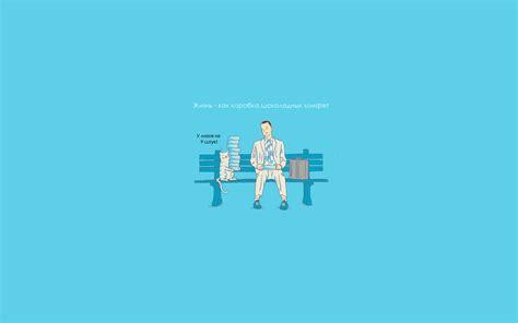 wallpaper blue jokes forrest gump full hd wallpaper and background image
