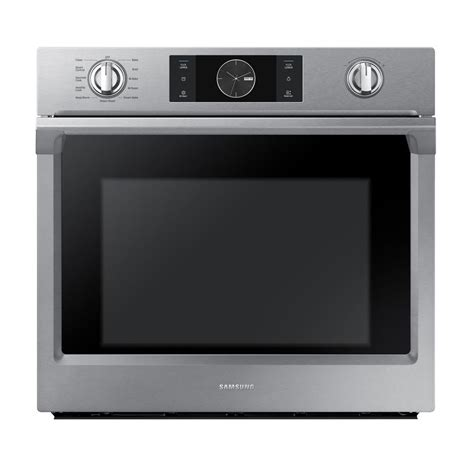 Samsung Oven Samsung 30 In Flex Duo Single Electric Wall Oven Self Cleaning With True Convection And Steam