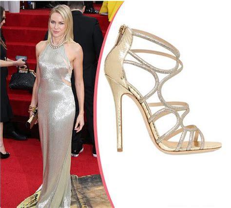High Heels Kerja Hitam Elegan macam sepatu wanita golden globe awards 2014