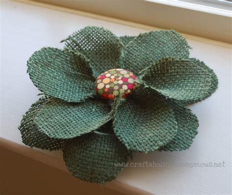 burlap flower template craftaholics anonymous how to make fabric farfalle bows