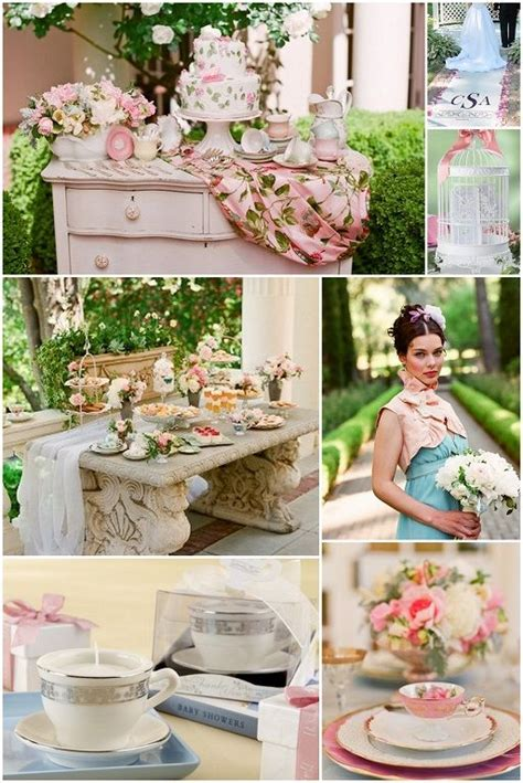 Vintage Garden Wedding Ideas Vintage Garden Tea Birthday Pinterest