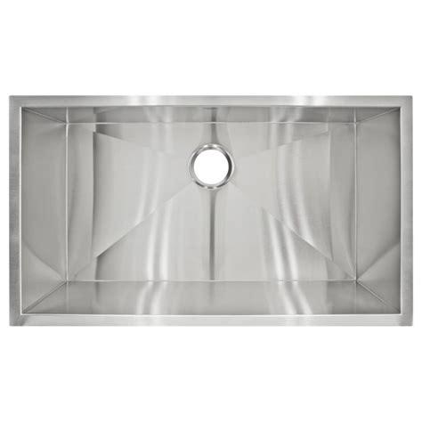 zero radius undermount sink lclp2 zero radius undermount stainless steel single basin