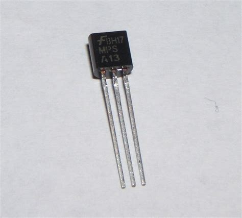 darlington transistor resistor mpsa13 npn darlington transistor to92 0 5a pack of 10