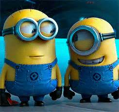 imagenes de minions enojados laughing gifs find share on giphy