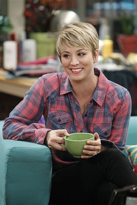 short hair penny on cbs penny hofstadter big bang theory wiki kaley cuoco and bangs