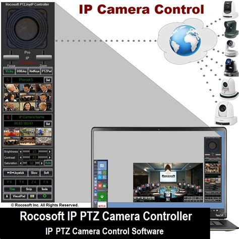 ip installation software visca ip ptz software