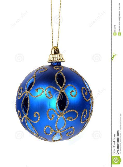 blue christmas ornament stock photo image of figurine