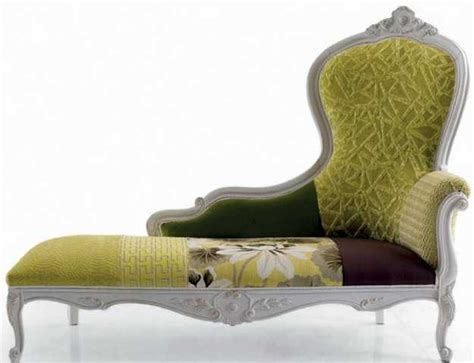 modern chaise lounge chairs recamier  chic room decor
