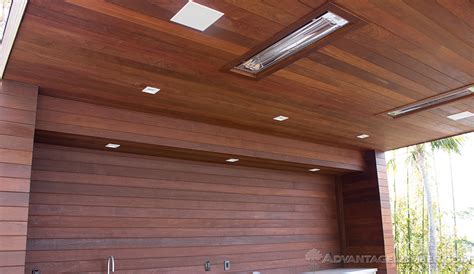 wood ceiling installation