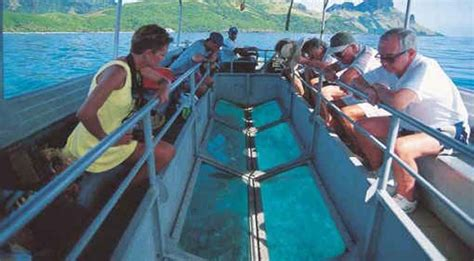 glass bottom boat havelock andaman lagoons adventure activities in andamans