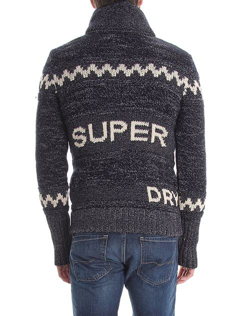 White Images Net Jacket Sml superdry s big zip mountain knit hooded sweater jacket