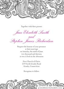Borders For Invitations Template by Deco Border Wedding Invite Wedding Invitation Templates