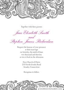 Wedding Invitation Borders Wedding Invitations Wedding