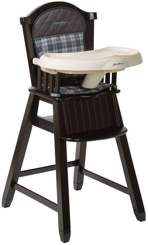 Used High Chairs by Eddie Bauer Wood High Chair Ridgewood