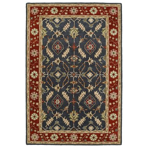 10 5 Ft X 8 Ft Rug by Kaleen Middleton Charcoal 5 Ft X 8 Ft Area Rug Mid10 38