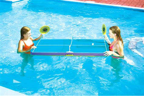 new swimline 9164 swimming pool floating ping pong table