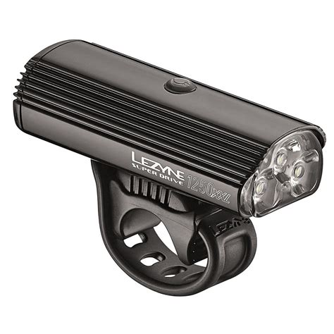 Front Light by Wiggle Lezyne Drive 1250xxl Front Light Front Lights