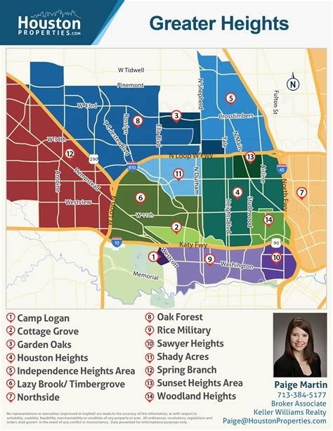 houston map neighborhoods martin s houston real estate insights