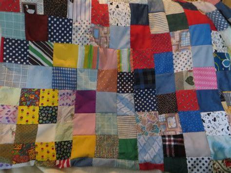Stitched Patchwork - stitched vintage patchwork quilt top retro quilt top