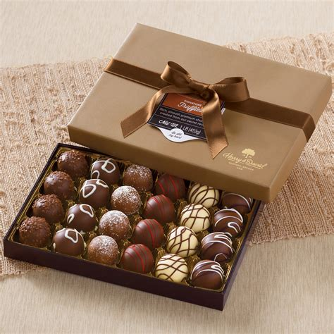 signature chocolate truffles gift box chocolate gifts