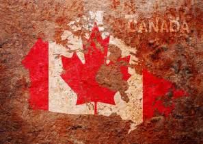 canada map wallpaper canada flag map by michael tompsett