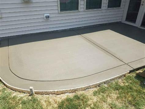 concrete patio nc concrete contractors raleigh nc driveways patios sted