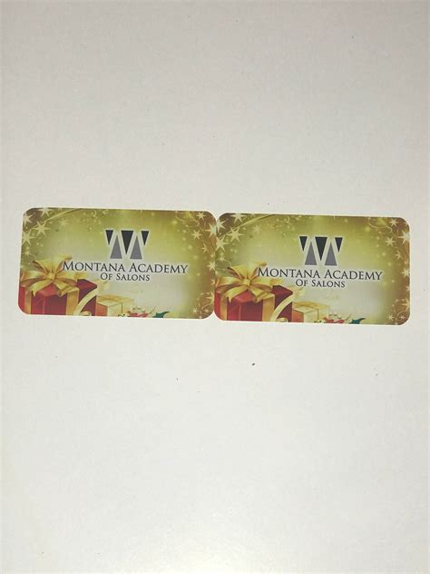 Montanas Gift Card - two montana academy gift cards