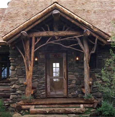 cozy log cabin porch home inspirtations pinterest unpolished life rustic cozy architecture home