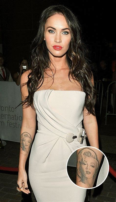 megan fox marilyn tattoo best 25 marilyn ideas on marilyn