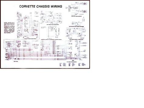 diagram electrical wiring davies corvette parts accessories