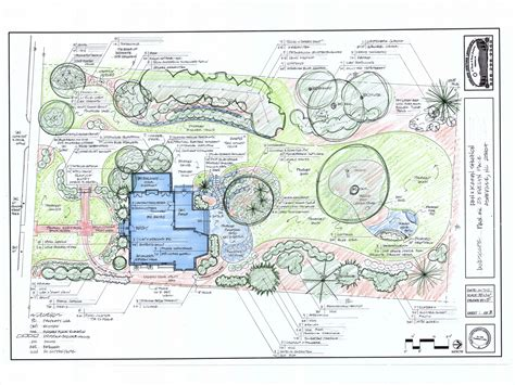 house plans with landscaping residential landscape design drawings www imgkid com