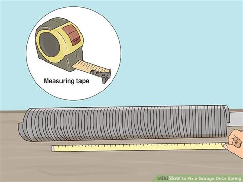 how to fix a garage door with pictures wikihow