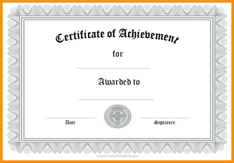certificate template ai certificate template ai gallery certificate design and