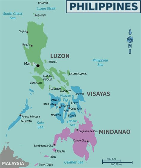 map usa to philippines maps of the philippines overview map regions