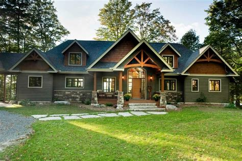 Cottage House Plans One Story the gable crest model craftsman exterior vancouver
