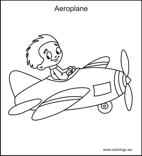 coloring pages airplane pilot airplane pilot coloring page www pixshark com images