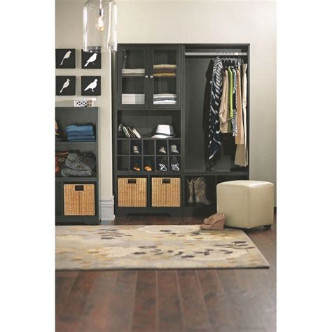 home decorators collection baxter black storage furniture