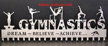 gymnast awards display personalized gymnastics medals