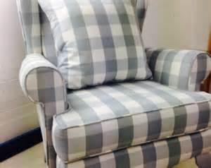 shabby chic slipcovers for wingback chairs items similar to custom chic slipcover ed shabby wingback