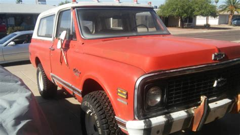Blazer X4 1970 chevrolet cst k5 blazer 4x4 project hugger orange classic chevrolet blazer 1970 for sale
