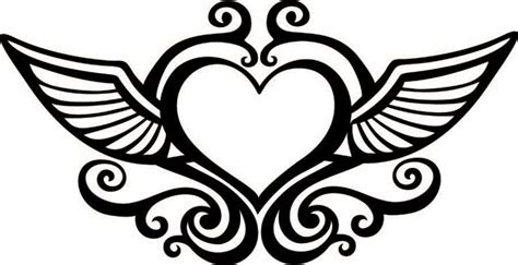 coloring pages heart with wings hearts with wings coloring pages coloring home