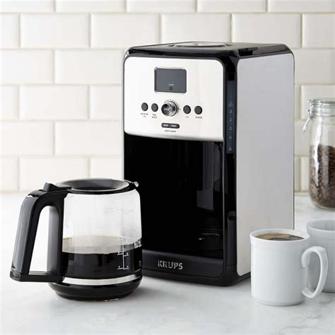 Krups Coffee Maker krups savoy stainless steel 12 cup programmable