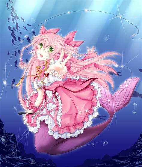 anime net mermaid idol sedna bermuda zerochan anime image board
