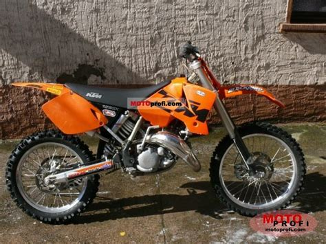 2003 Ktm 125sx For Sale Ktm 125 Sx 2003 Specs And Photos